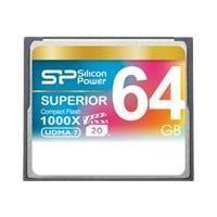 Carte Memoire - Memoire Flash SILICON POWER Carte memoire Compact Flash 1000X - 64 Go