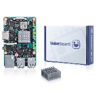 Carte Mere ASUS Carte mere TINKER BOARD - Rockchip RK3288 - Cortex-A17 - Quad-core 1.8GHz - 90MB0QY1-M0EAY0