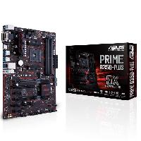 Carte Mere Carte mere PRIME B350-PLUS - Socket AM4 - DDR4 - 2666 MHz - 64 Go - 90MB0TG0-M0EAY0
