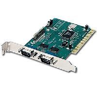 Carte Reseau Filaire - Sans Fil Carte controleur PCI 2 ports serie 1 port parallele - Connectland