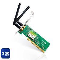 Carte Reseau Filaire - Sans Fil TP-LINK adaptateur PCI N300 WN851ND - Tplink