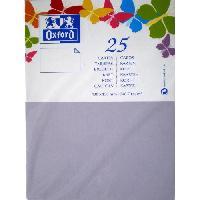 Carterie - Correspondance 25 Cartes - 15 cm x 10 cm x 0.7 cm - 240g - Parme