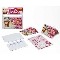 Carterie - Correspondance ATOSA Pack de 4 cartes d'invitations - Collection Barbie - Fille - 15x10 cm