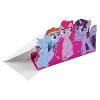 Carterie - Correspondance MY LITTLE PONY 8 Invitations + Enveloppes
