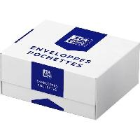 Carterie - Correspondance OXFORD Boite de 500 enveloppes auto-adhesives - 22 cm x 11 cm x 0.02 cm 90g
