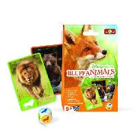 Cartes De Jeu - Accessoire De Carte DISNEYNATURE - Bluff Animals