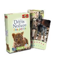 Cartes De Jeu - Accessoire De Carte Defis Nature des Petits - jungle