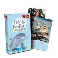 Cartes De Jeu - Accessoire De Carte Defis Nature des Petits - mer