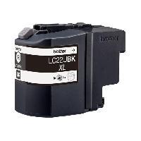 Cartouche Imprimante BROTHER Cartouche LC22UBK - Noir