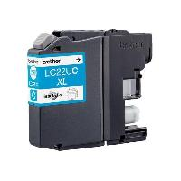 Cartouche Imprimante BROTHER Cartouche LC22UC - Cyan