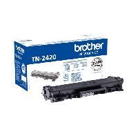 Cartouche Imprimante BROTHER Toner noir haute capacite TN2420 - 3 000 pages