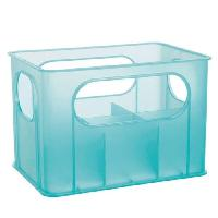 Casier A Biberon Porte - biberons pour 6 biberons - Turquoise translucide