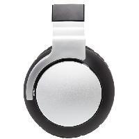 Casque - Microphone - Dictaphone APM Casque sans fil ANC : Active Noise Cancelling - Autonomie 20h - Blanc