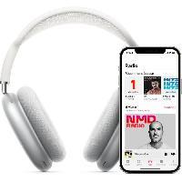 Casque - Microphone - Dictaphone AirPods Max bleu ciel