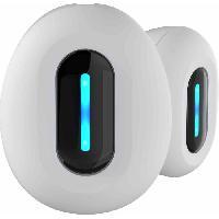 Casque - Microphone - Dictaphone DIVACORE NoMad. Ecouteurs 100% sans fil. Blanc