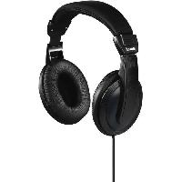 Casque - Microphone - Dictaphone HAMA-00184013-Casque TV Basic4TV