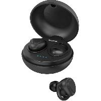 Casque - Microphone - Dictaphone HAMA Écouteurs Bluetooth LiberoBuds - int-aur. - Full Wirel. - st. chrg - noirs