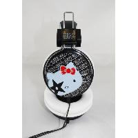 Casque - Microphone - Dictaphone INOVALLEY CAQ17HK - Casque audio filaire Hello Kitty Kiss