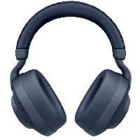 Casque - Microphone - Dictaphone JABRA Casque Bluetooth  Elite 85h Navy - Bleu