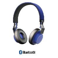 Casque - Microphone - Dictaphone JABRA MOVEWIRELESSBLUE Move wireless cobalt casque bluetooth - Stereo - Bleu