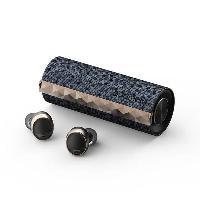 Casque - Microphone - Dictaphone T3-GRH Padmate écouteurs sans Fil PaMu Scroll - Bluetooth 5.0 - Etanche IPX6 -  Tactile - 3h30 d'autonomie - (Gris/Noir)