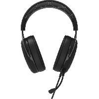 Casque  - Microphone CORSAIR Casque Gamer Filaire HS60 Surround - Blanc -CA-9011174-EU-
