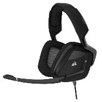 Casque  - Microphone CORSAIR Casque Gamer Filaire VOID PRO RGB USB - Noir -CA-9011154-EU-