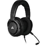 Casque  - Microphone CORSAIR Casque Gamer HS45 SURROUND - Filaire - Carbone -CA-9011220-EU-