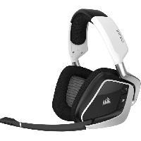 Casque  - Microphone CORSAIR Casque Gamer Sans Fil VOID PRO RGB Wireless - Blanc -CA-9011153-EU-