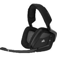 Casque  - Microphone CORSAIR Casque Gamer Sans Fil VOID PRO RGB Wireless - Noir -CA-9011152-EU-