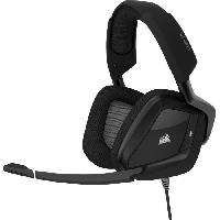 Casque  - Microphone CORSAIR Casque Gamer VOID RGB ELITE USB - Filaire - Carbone -CA-9011203-EU-