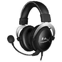 Casque  - Microphone HYPERX Casque Gamer Cloud Silver - 3.5mm