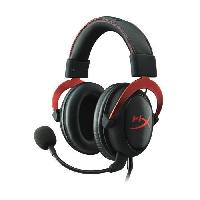 Casque  - Microphone Hyper X Micro-Casque Gamer Cloud II Filaire Rouge Surround 7.1 PS4Xbox One