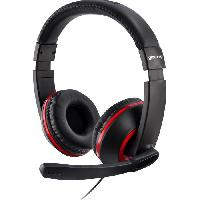 Casque - Microphone Pour Console Casque Gaming Stereo XH100 Rouge pour PS4. Xbox One et PC-MAC
