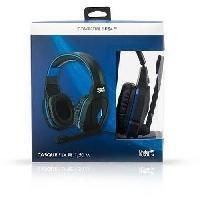 Casque - Microphone Pour Console Casque filaire pour PS4 Proxima Plus Noir et bleu - Under Control
