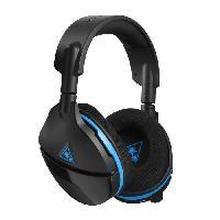 Casque - Microphone Pour Console Casque gamer Stealth 600 - Sans fil - Suround - Superhuman hearing - Noir et bleu - PS4