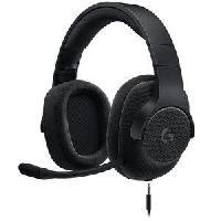 Casque - Microphone Pour Console LOGITECH Micro Casque Gamer G433 Noir - Pour PC. PS4. Xbox One et Nintendo Switch - Logitech G