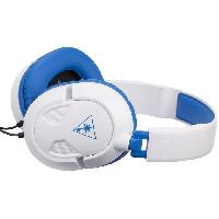 Casque - Microphone Pour Console Turtle Beach - Casque Gamer - Recon 60P Blanc -compatible PS4-Xbox-Switch-PC-Mobile- - TBS-3309-01