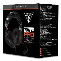 Casque - Microphone Pour Console Turtle Beach - Casque Gamer e-sport - Elite Pro -compatible PC-PS4-Xbox- - TBS-2010-02
