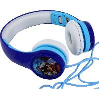 Casque Audio Enfant DRAGON BALL Z SUPER Casque audio enfant Trunks et Goten - Bleu - Teknofun