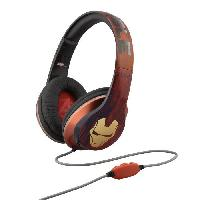 Casque Audio Enfant IRONMAN casque audio enfant Stereo - Microphone integre - Ihome