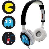 Casque Audio Enfant PACMAN Casque audio personnalisable - Noir - Teknofun