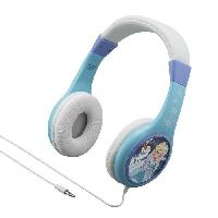 Casque Audio Enfant REINE DES NEIGES casque audio enfant Kidsafe - Arceau reglable pour enfant - Ekids
