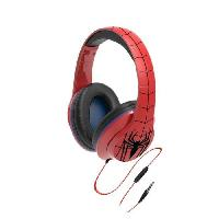 Casque Audio Enfant SPIDERMAN casque audio enfant Stereo - Microphone integre - Ekids