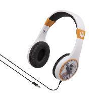 Casque Audio Enfant STARWARS casque audio enfant Kidsafe - Arceau reglable pour enfant - Ekids