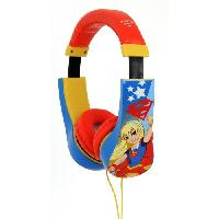 Casque Audio Enfant SUPER HERO GIRLS Casque audio kidsafe - Techtraining