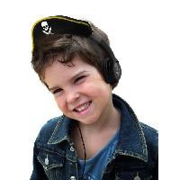 Casque Audio Enfant TEKNOFUN Casque Stereo Pirate Son Limite pour Enfant