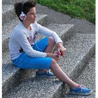Casque Audio Enfant TEKNOFUN Casque audio enfant personnalisable Travel - Bleu