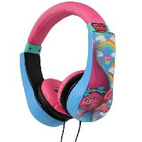 Casque Audio Enfant TROLLS Casque audio enfant Kidsafe - Techtraining