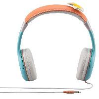 Casque Audio Enfant VAIANA casque audio enfant Kidsafe Premium - Arceau reglable pour enfant - Ekids